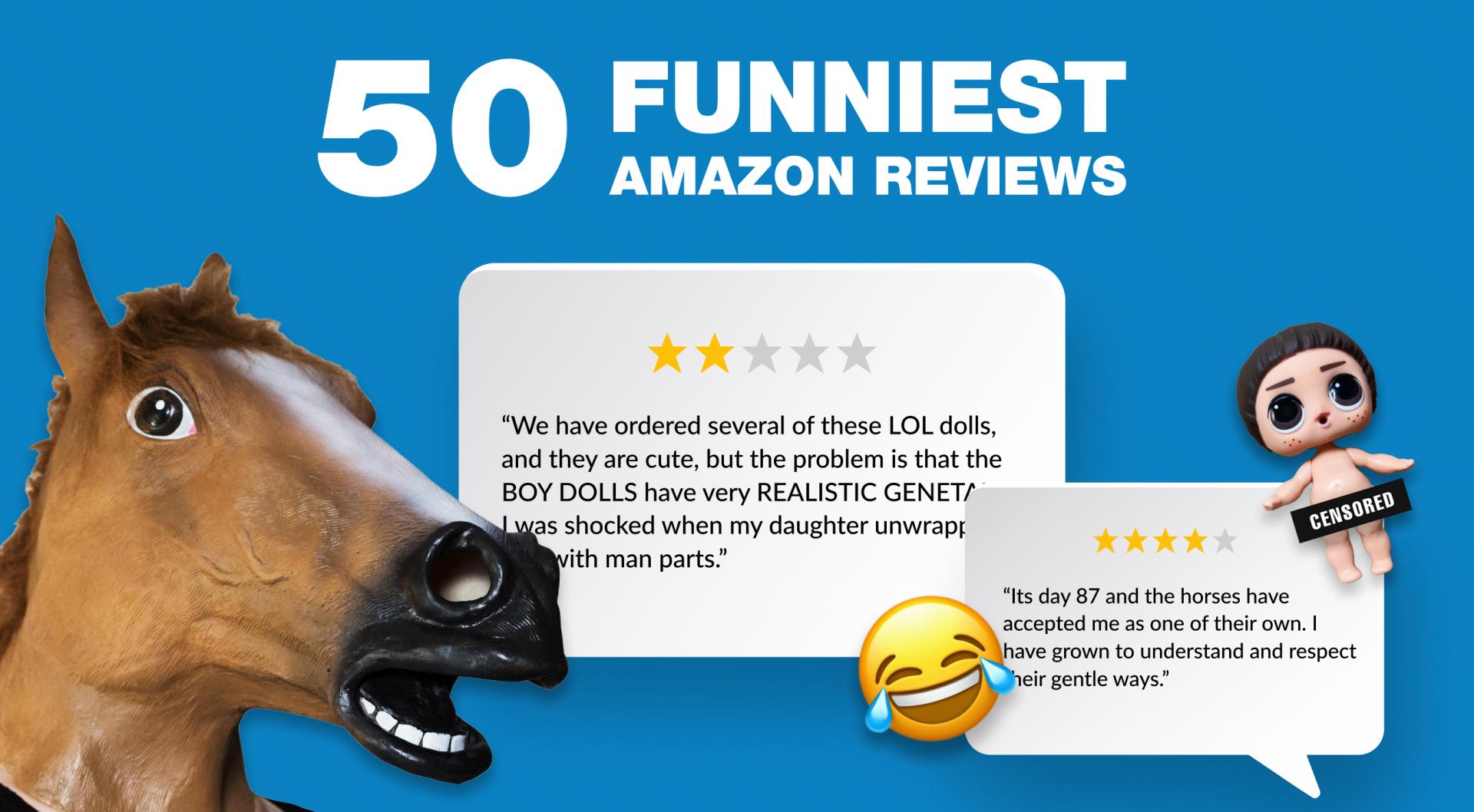 Funny Amazon Reveiws
